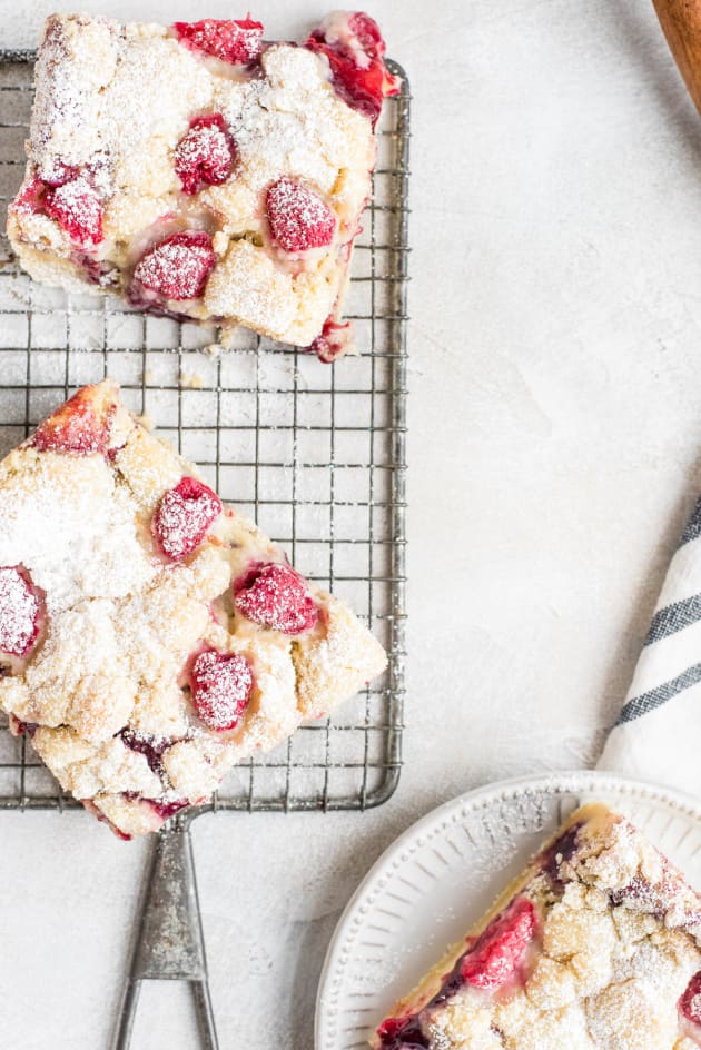 Raspberry Lemon Cookie Bars Image