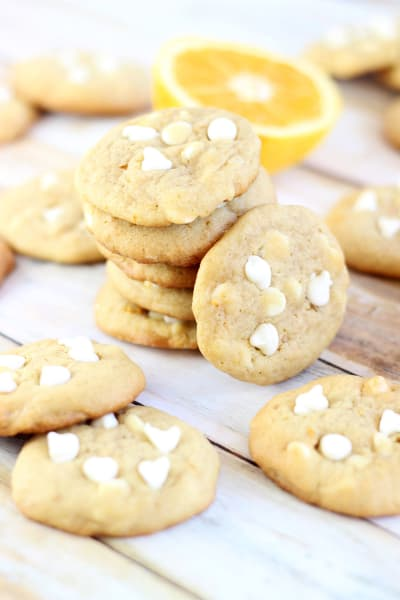 Orange Creamsicle Cookies Image