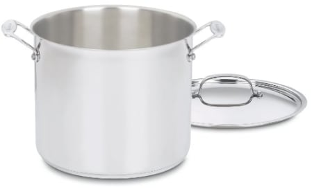 Chef's Classic Stainless Steel Cuisinart Stockpot Review