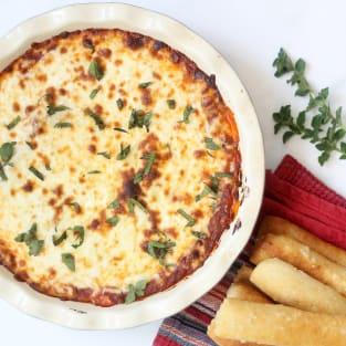 Olive garden lasagna dip photo
