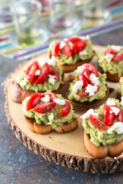 Avocado Goat Cheese Crostini Picture