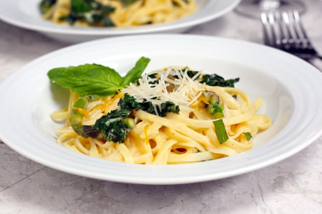 Meyer Lemon Kale Pasta Photo