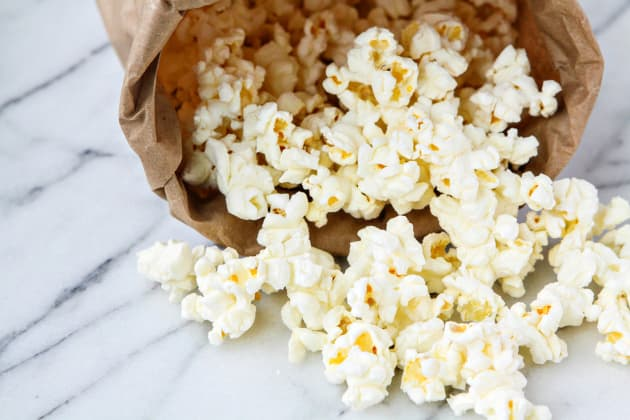 Homemade Microwave Popcorn Photo