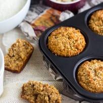 Coconut Almond Muffins Recipe