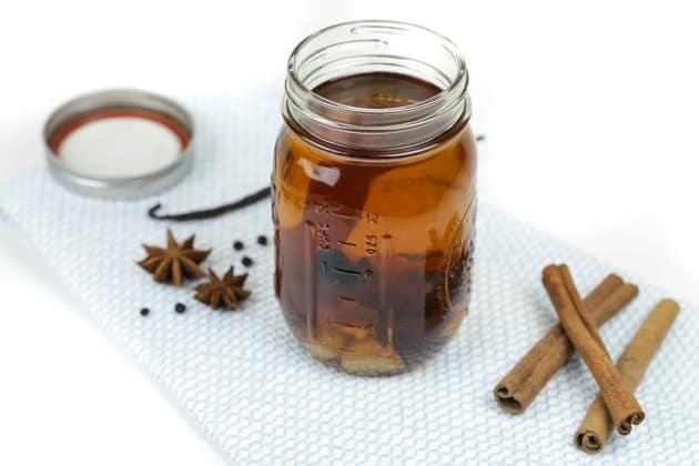 Homemade Spiced Rum Photo