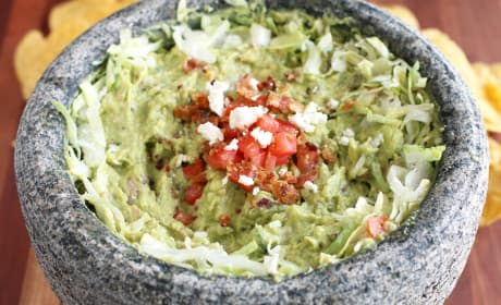 BLT Goat Cheese Guacamole Recipe