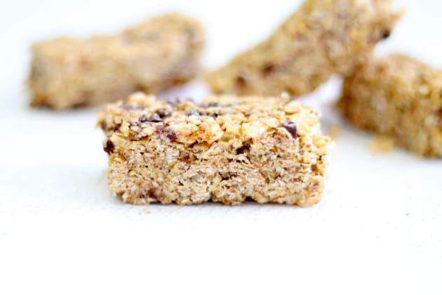 Homemade Chewy Granola Bars Pic