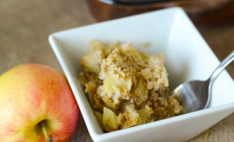 Gluten Free Baked Caramel Apple Oatmeal Recipe