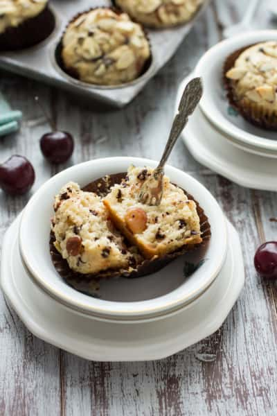 Cherry Chocolate Chip Muffins Pic