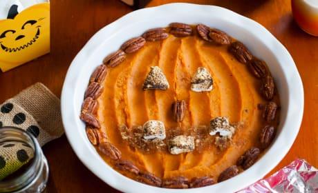 Sweet Potato Jack O' Lantern Image