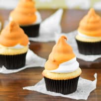 Butterscotch Dip Cupcakes Recipe