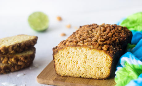 Coconut Lime Bread: Paleo Gluten Free Wonder