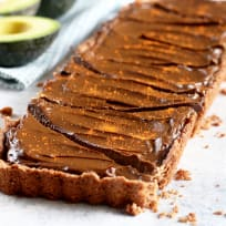 Spicy Chocolate Avocado Tart Recipe