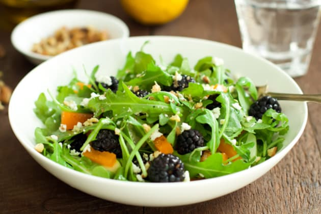 Arugula Blackberry Salad Photo