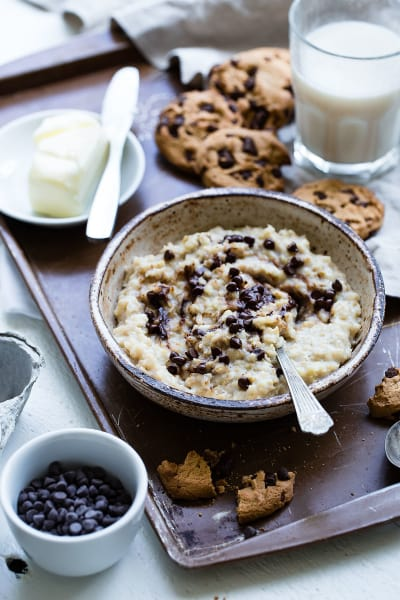 Cookie Dough Protein Oatmeal Pic