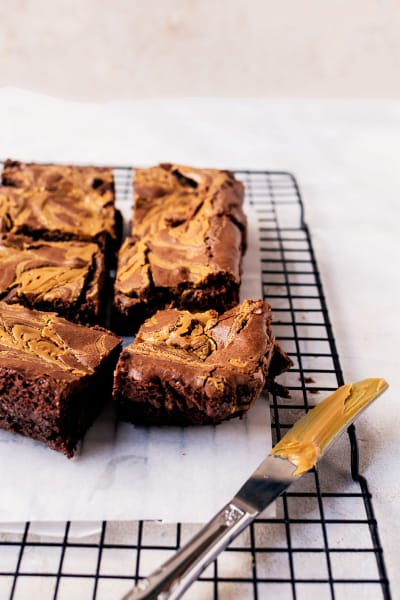Peanut Butter Brownies Image