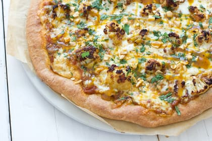 Indian Cauliflower Pizza