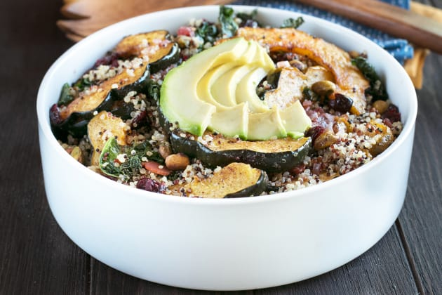 Harvest Acorn Squash Quinoa Salad Photo