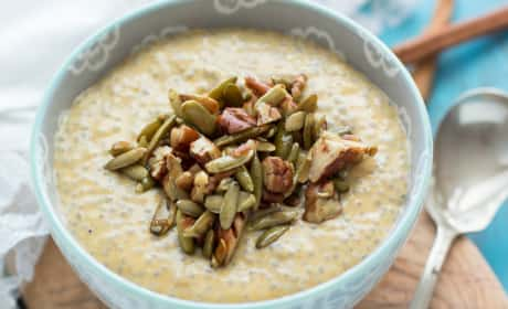 Pumpkin Chia Seed Pudding Recipe