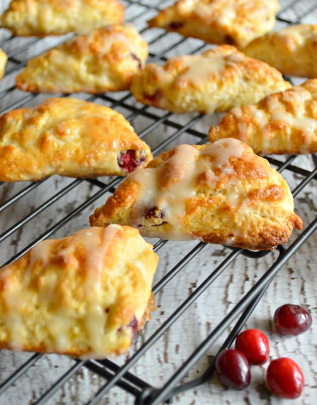 Cranberry Orange Scones Picture