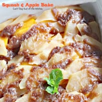Squash and Apple Bake