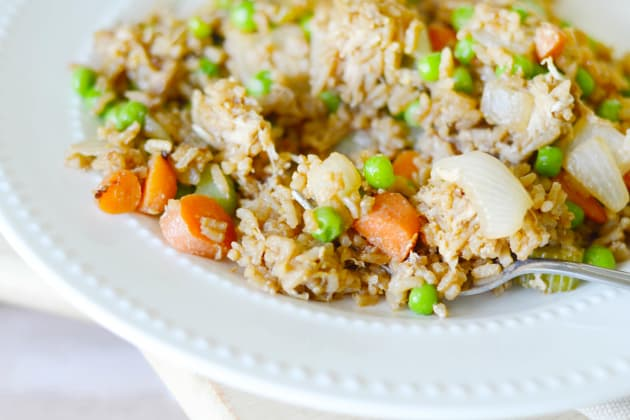 Homemade Fried Rice Photo