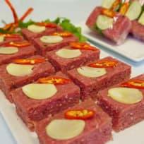 Cured Fermented Beef (Nem Chua)