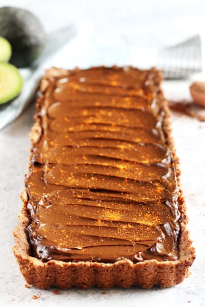File 2 Spicy Chocolate Avocado Tart