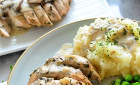 Instant Pot Turkey Tenderloin with Mushroom Gravy Pic