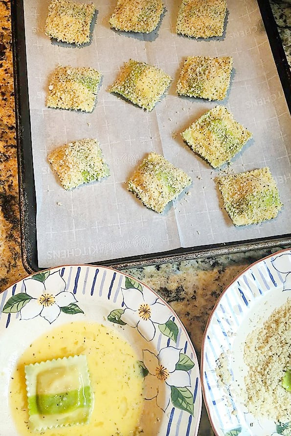 Oven Fried Ravioli Picture
