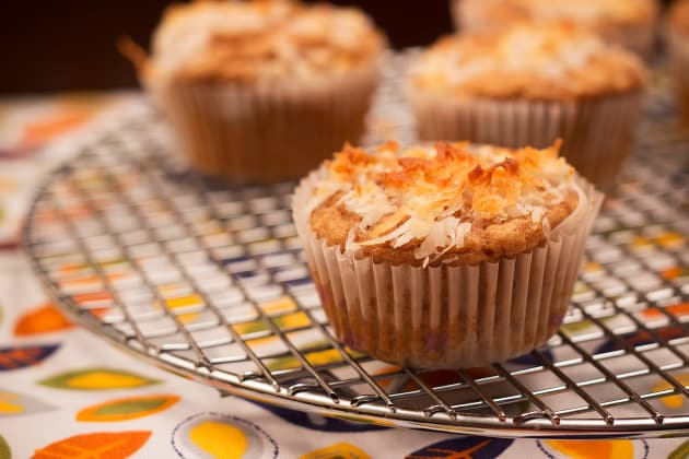 Blueberry Coconut Muffins Photo