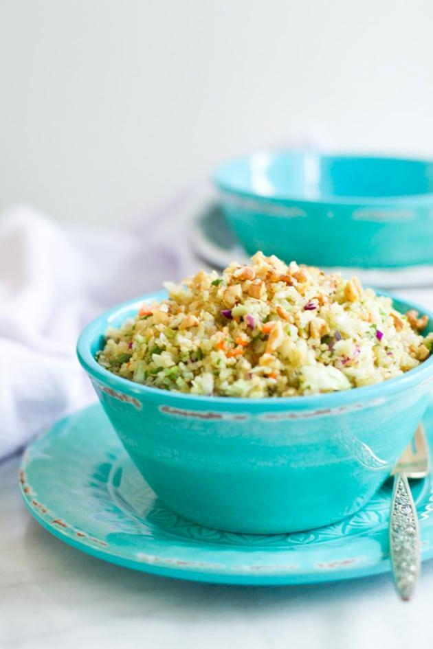 Quinoa Cabbage Salad Picture