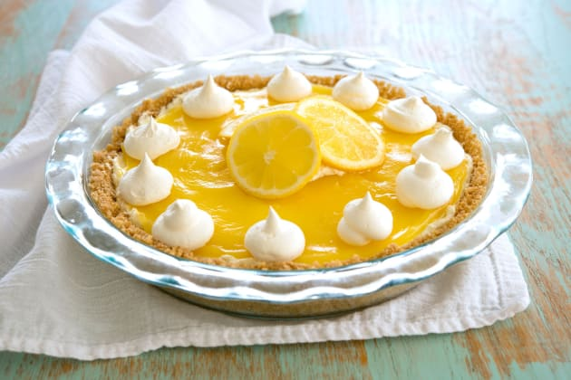 Lemon Cream Cheese Pie Photo