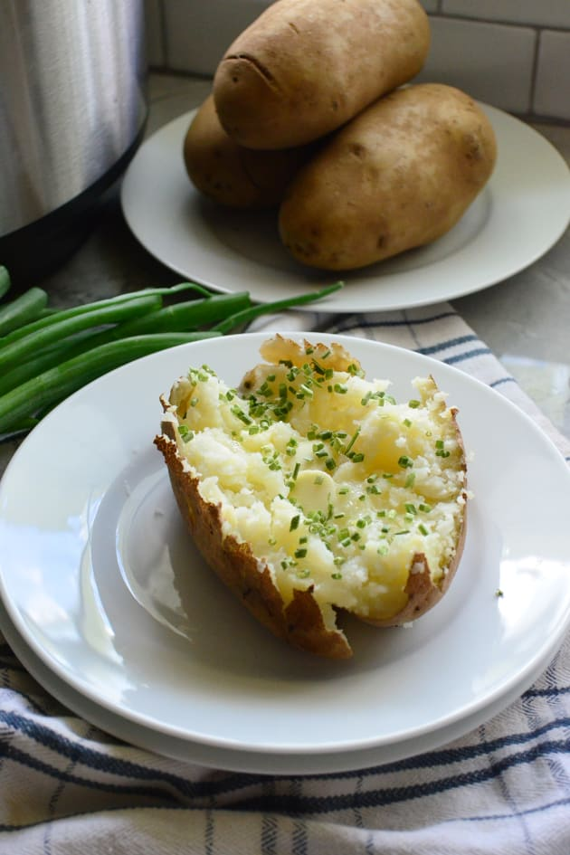 Instant Pot Baked Potatoes Picture