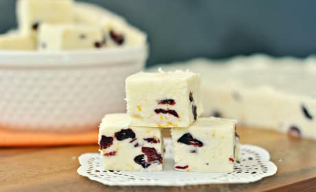 Cranberry Orange Fudge Recipe
