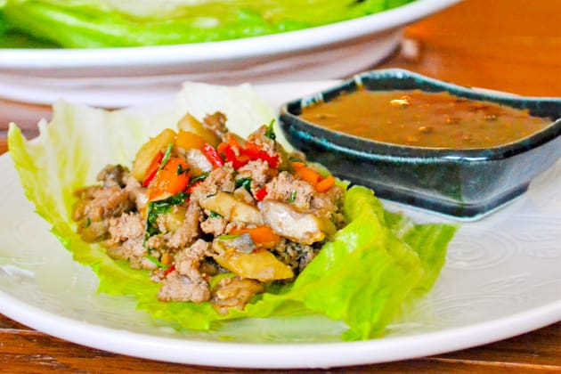 Asian Turkey Lettuce Wraps Photo