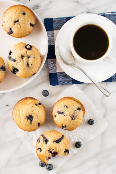 Blueberry Chai Muffins
