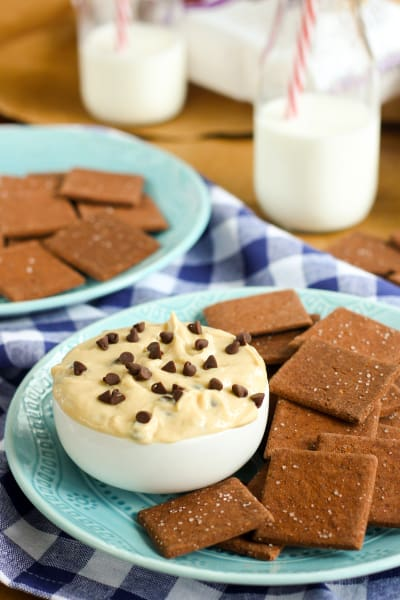 Gluten Free Cookie Dough Dip Picture
