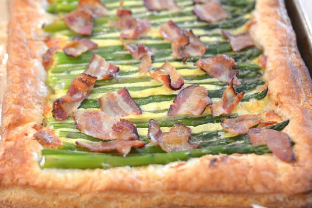 Asparagus Tart with Bacon Picture