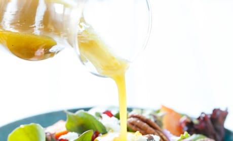 Winter Salad with Citrus Vinaigrette Pic