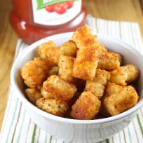 Oven Fried Tater Tots Recipe