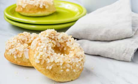 Toasted Coconut Donuts Recipe