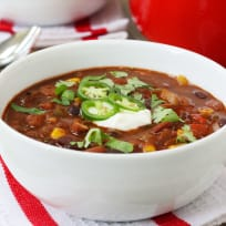 Pioneer Woman Veggie Chili