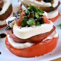 Caprese Tomato Stacks Recipe