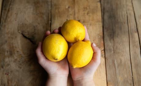 Lemon Cream Scones Pic