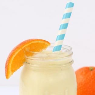 Homemade orange julius photo