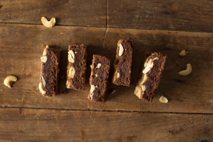 Brown Butter Brownies with Chai