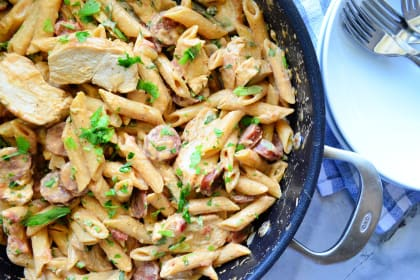 One Pot Cajun Chicken Pasta Recipe