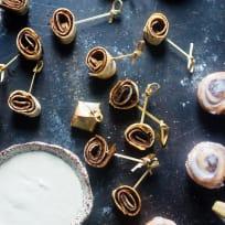 Vegan Cinnamon Roll Pinwheel Bites Recipe
