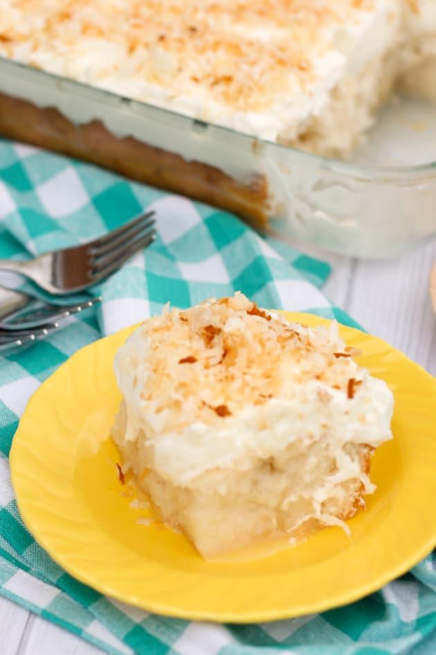 Coconut Poke Cake Pic